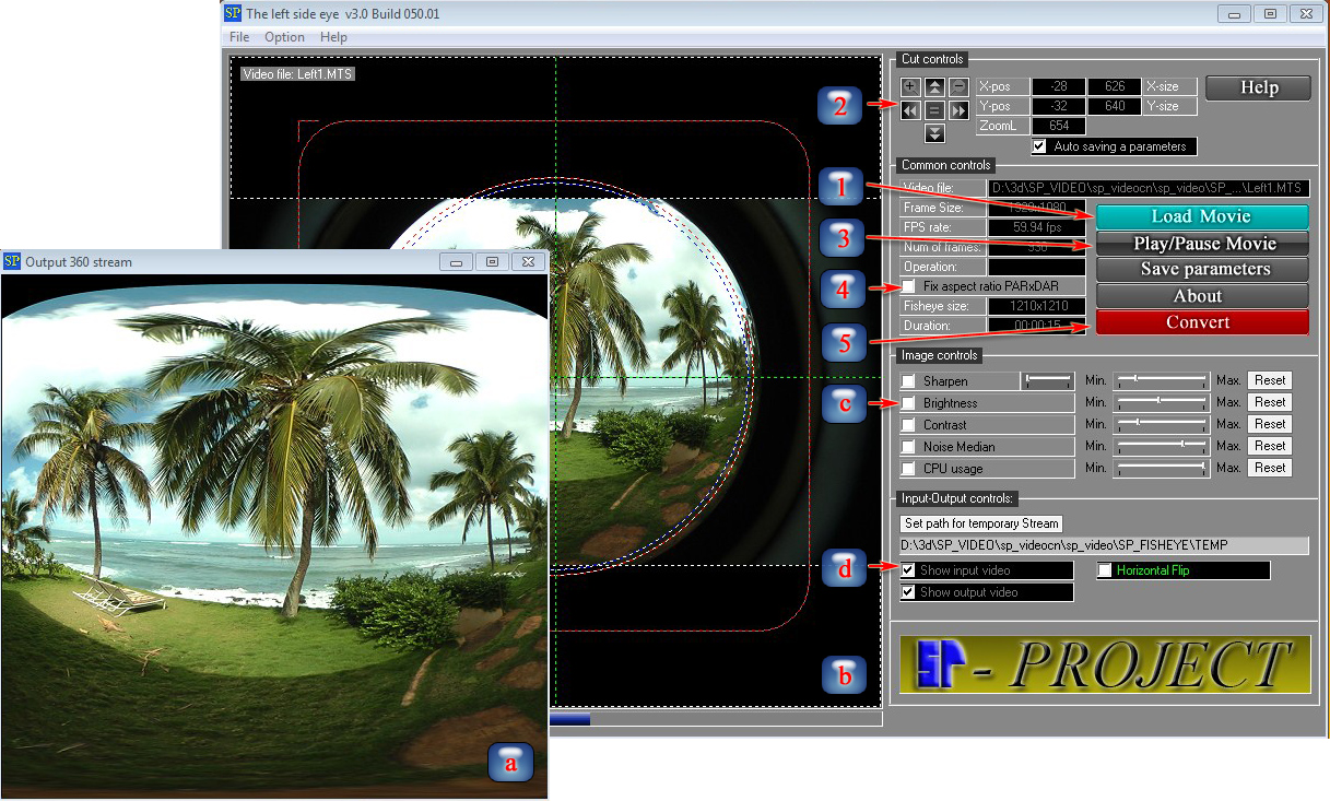 STEREOSCOPY :: Spherical Panorama 3D Stereo Video Publisher