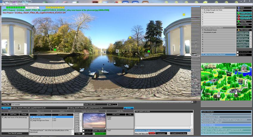 Windows 7 Spherical Panorama Virtual Tour Builder 9.00 full
